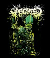 ABORTED cd lgo OUR FATHER WHO ART OF FECES Official SHIRT SMALL new