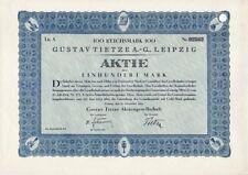 Gustav Tietze AG  1924 Leipzig