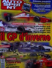 Autosprint 47 2001 5° Inserto Kolossal Schumi - Ferrari. Ferrari: un pieno di GT