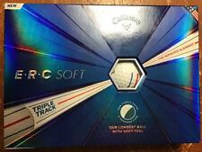 Callaway Golf ERC Soft Triple Track Golf Balls - White - 12pk New