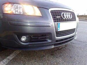 Audi A3 A4 S3 S4 8p 8L Front Bumper Seat Cupra R Line Euro Spoiler Lip