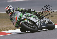 HIROSHI Aoyama mano firmato Drive M7 aspar HONDA 12x8 FOTO 2014 MotoGP 2.