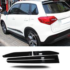 For Suzuki Vitara Escudo 2015 2016 2017 Side Door Body Molding Cover Trim 4PCS
