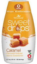 Sweet Drops Liquid Stevia by SweetLeaf, 1.7 oz Caramel 12 pack