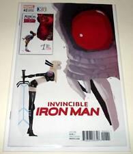 INVINCIBLE IRON MAN # 2  Marvel Comic  Feb 2017  NM    X C I VARIANT COVER