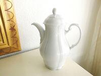 Seltmann Weiden Bavaria Bayreuth Kaffeekanne Teekanne weiß 1,2 Liter Top Zustand