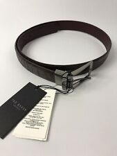 "Ted Baker Mens Belt - Leather - Reversible - 32""/81 cm - Chocolate - RRP £59"