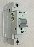 CRABTREE 40 Amp TYPE B 6kA MCB Disjoncteur 610//40 STOTZ