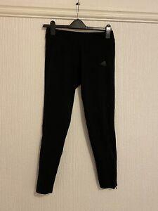 Adidas Black Womens Running Leggings Size 12-14