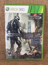 Crysis 2 Limited Edition Microsoft Xbox 360, 2011 Complete Tested