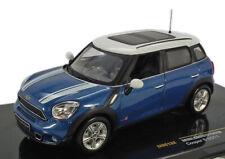 1:43 MINI Countryman S (BMW) Blue White IXO MOC132 Brand NEW in Box!
