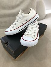 CONVERSE White Chuck Taylor Low Tops Mens 3 US Sneakers Shoes Womens 5 US [CS3