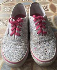 Vans Originales con Brillo Estrellas Zapato-Talla 4 (36.5)