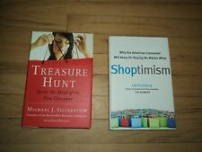 2 Marketing Books Why American Consumer Keep Buying Shoptimism AND Treasure Hunt