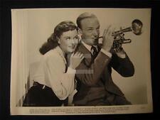 1940 Fred Astaire Paulette Goddard Second Chorus VINTAGE MOVIE PHOTO 66J