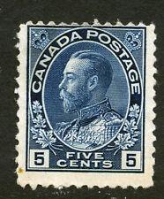 Bigjake: Canada #111, 5 cent King George V, Admiral Issue
