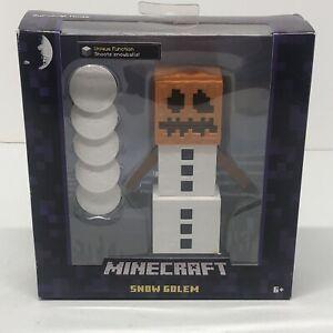 Minecraft Survival Mode Snow Golem Boxed Action Figure Mattel
