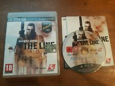 SPEC OPS THE LINE PS3 PLAYSTATION 3 COMPLETO VERS ITA BUONO STATO