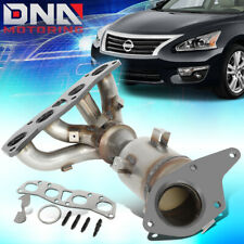 FOR 2007-2012 NISSAN ALTIMA 2.5L ENGINE CATALYTIC CONVERTER EXHAUST MANIFOLD