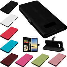 Leather Wallet Magnetic Flip Stand Card Slot Phone Case Cover For Samsung Galaxy