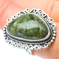 Large Rainforest Opal 925 Sterling Silver Ring Size 8.75 Ana Co Jewelry R31063F