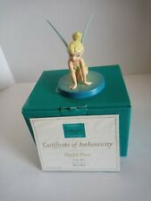 """Wdcc Disney Tinker Bell titled """" Playful Pixie """" from Peter Pan"""