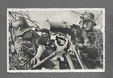 Postkarte Unsere Wehrmacht Die Feuerstellung MG 08