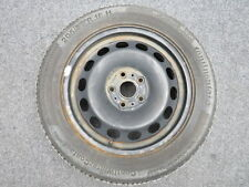 STEEL RIM WITH TYRES SPARE WHEEL 6X16 ET48 5x112 205 55 16 Continental VW