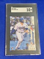 2020 Topps Gavin Lux Los Angeles Dodgers #292 SGC 10 GEM MINT Rookie Hitting