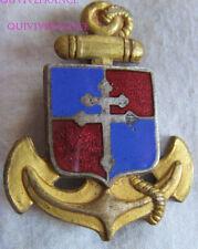 IN13129 - INSIGNE 9° Division d'Infanterie Coloniale, émail, dos lisse embouti
