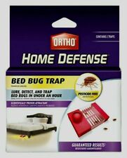 Ortho Home Defense BED BUG TRAP Lure Detect Prevention Monitor Glue 0465510 2 pk