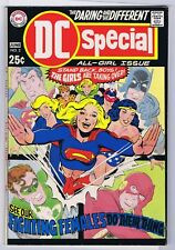 DC SPECIAL 3 7.5 8.0 ALL GIRL ISSUE THE GIRLS ARE TAKING OVER 1969 PC