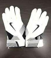 Nike Mens D-Tack 5.0 Lineman Football Gloves Leather PGF463-100 White Adult 3XL