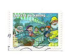 Timbre 20 g Lettre prioritaire 2011 - La fête du hareng