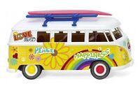 """#079725 - Wiking VW T1 Bus """"Flower Power"""" - 1:87"""