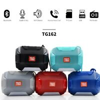Bluetooth Wireless Speaker Portable Super Bass Rechargeable USB/TF/FM Radio