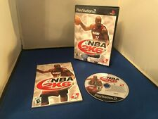 PLAYSTATION 2 PS2 NBA 2K6 COMPLETE RATED E