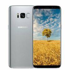 """Samsung Galaxy S8 G950U argent 64Go Désimlocké Android Smartphone 5,8"""" Parfait"""