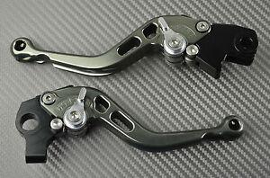 Short brake & clutch levers pair CNC titanium BIMOTADB5 & DB62006- 2013