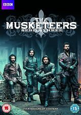 THE MUSKETEERS (I Moschettieri) Stagione 3 Completa BOX 4 DVD in Inglese NEW .cp