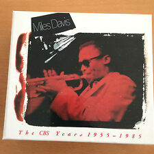The CBS Years 1955-1985, Miles Davis, 4 CD-Set