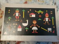Vintage 1960s Tofa magnetic Shape/Picture Game Puzzle