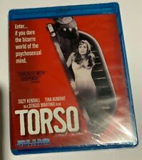 FAF Torso Blue Underground Giallo Bluray Blue Ray NEW