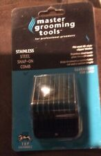 "Master Grooming Tools 3/4"" Stainless Steel Snap on Guide Comb,fits Most A5"