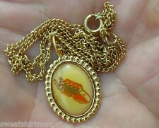 4 MAN BOBSLEIGH BOBSLED 1980 NECKLACE PENDANT Winter Olympic Game Lake Placid NY