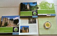 5 Euro Silber Niob Gedenkmünze Luxemburg Schloss Beaufort 2013 Auflage 3000