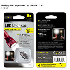 Nite Ize High Power LED Upgrade Kit For Most C Or D Cell Flashlight LRB2-07-PRHP