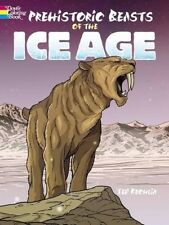 Prehistoric Beasts of the Ice Age (Dover Coloring Books), New Books