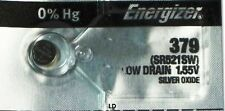 ENERGIZER 379 SR521SW 379 BATTERY NEW SEALED Authorize Seller