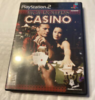 High Rollers Casino PS2 Game Sony PlayStation 2, 2004 Complete